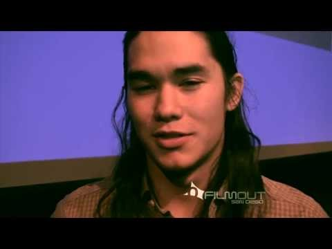 Booboo Stewart at FilmOut San Diego - YouTube