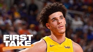 Lonzo Ball reveals what he learned from LaVar and LeBron James | First Take | ESPN