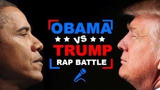 Donald Trump vs. Barack Obama   RAP BATTLE!