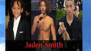 Jaden smitch | from 1 to 18 years old