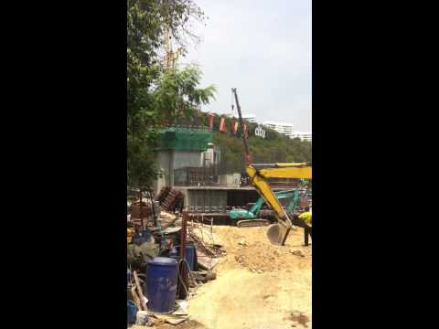 Waterfront Suites Condo Pattaya - Construction Update (2 April 2013)