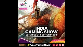 INDIA GAME SHOW | ALL INFORMATION | ASIA's BIGGEST GAMING EXHIBITION