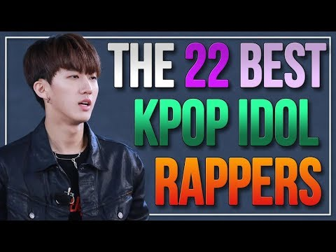 THE BEST MALE IDOL RAPPERS IN KPOP - New Updated list! (MOST SKILLED BOYGROUP RAPPERS)