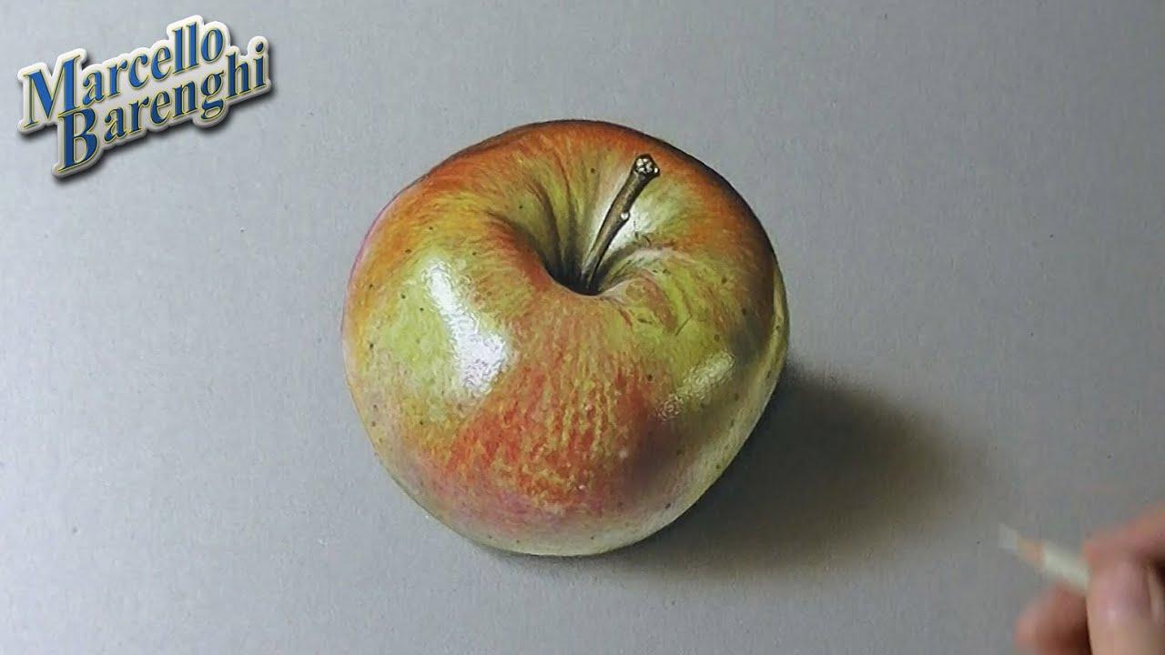 Comment dessiner une pomme ?