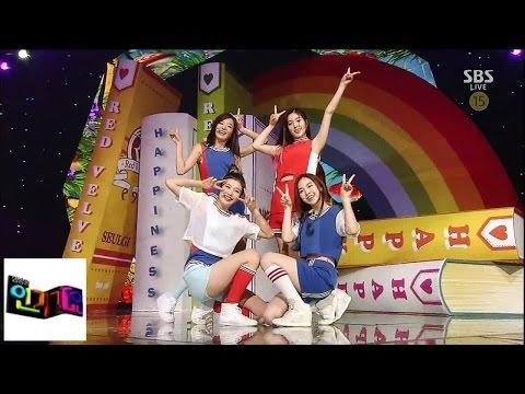 [레드벨벳(Red Velvet)] 행복(Happiness) @인기가요 Inkigayo 140810