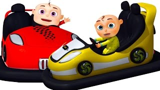 Five Little Babies Playing Toy Cars | Zool Babies Fun Songs | Five Little Babies Collection - YouTube