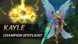 Kayle Champion Spotlight | Gameplay - League of Legends - YouTube