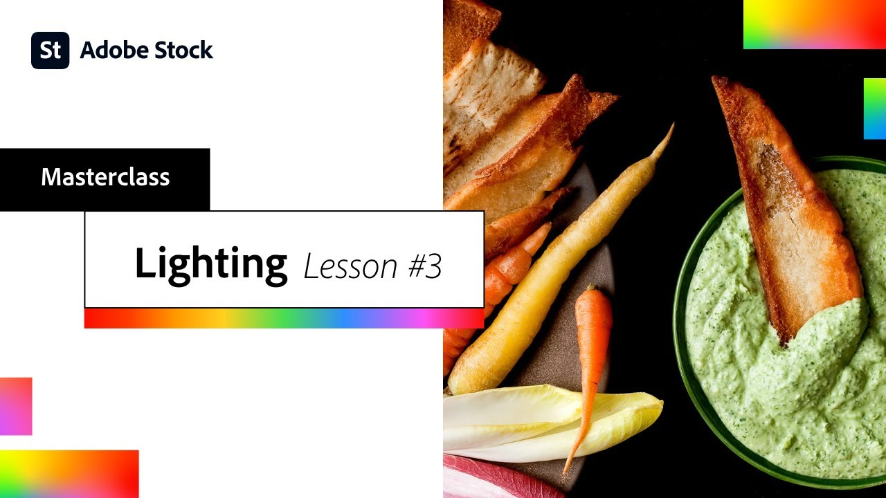 Lighting for Food Photography & Video, Lesson #3 | Adobe Creative Cloud