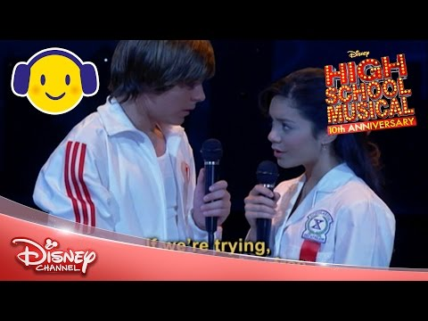 High School Musical | Breaking Free Sing-a-Long 🎤 | Official Disney Channel UK