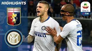 Genoa 0-4 Inter | Icardi returns as Inter romp home against Genoa | Serie A