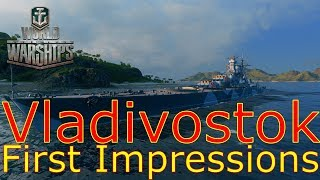 World of Warships- Vladivostok First Impressions