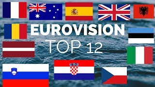 Eurovision 2019: TOP 12 [NEW COUNTRIES 18/02/19]
