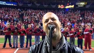 2011/10/28 Daughtry sings national anthem