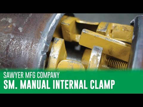 Sawyer Small Manual Internal Line Up Clamp