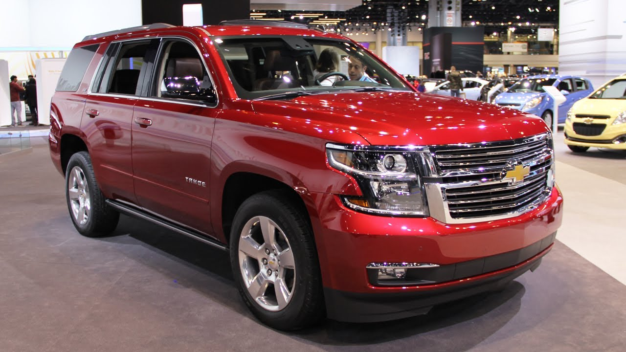 2015 Chevrolet Tahoe - new full-size SUV - YouTube