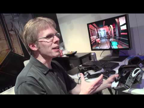 Creator of Doom John Carmack shows his reality at E3 2012