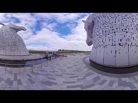 [S3D-360 video] The Kelpies in Scotland by SEKITANI Takashi