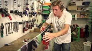 Skidvårdsskolan del 1 - Slipa och hänga kanter på skidor