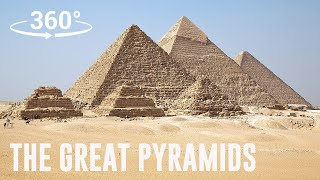 The Great Pyramids of Egypt 360° Experience | Escape Now