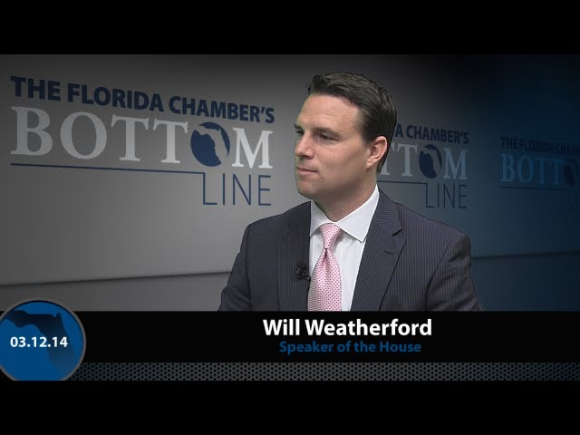 The Florida Chamber's Bottom Line - March 12, 2014