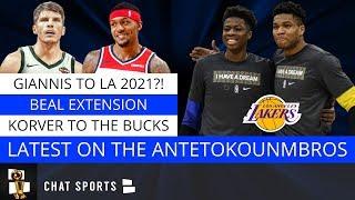 NBA Rumors: Bradley Beal's Future, Chris Paul Trade & Giannis To The Lakers In 2021?!
