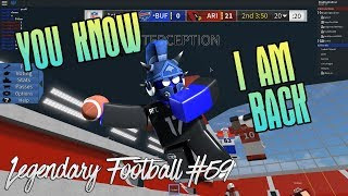 YOU KNOW IM BACK! [Legendary Football Funny Moments #59]