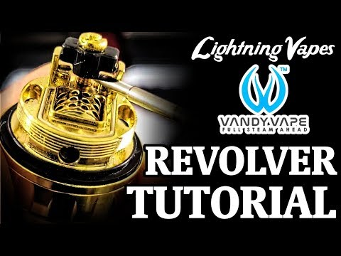 video Vandy Vape Revolver 25mm Rta