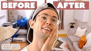 Zach's Surprise $2,500 Home Office Makeover  • Try DIY