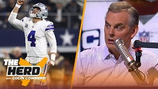 Colin Cowherd says Dak is the Cowboys future at QB, talks the Chicago Bears big win | NFL | THE HERD