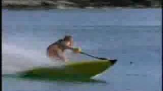 Tabla de surf con motor