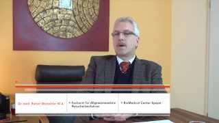 Dr. Mutschler zum Thema Darmflora und insbesondere veränderte Darmflora
