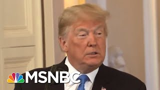 President Donald Trump Goes After Own Party At Press Conference | Katy Tur | MSNBC