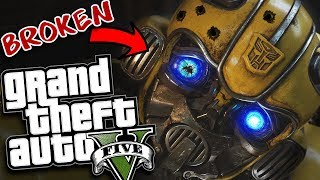 THE NEW BUMBLEBEE MOVIE GETS STOLEN MOD (GTA 5 PC Mods Gameplay)