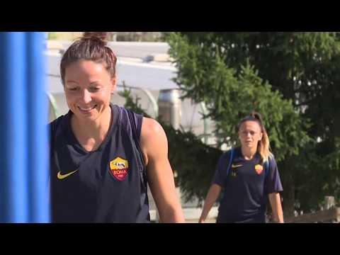 VIDEO - Roma Femminile, il terzo giorno di ritiro tra sorrisi e duro lavoro