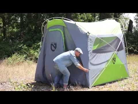 Nemo Wagontop 4P Tent Set Up