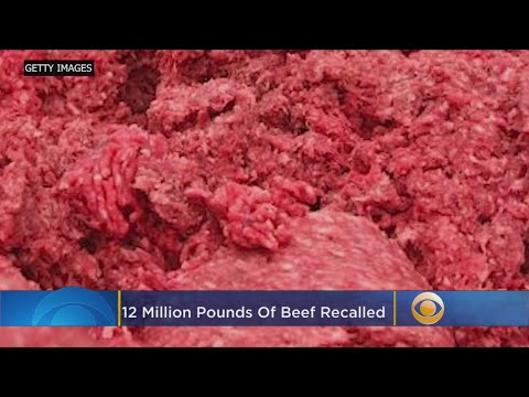 More U.S. Beef Recalled Because Of Salmonella Fears