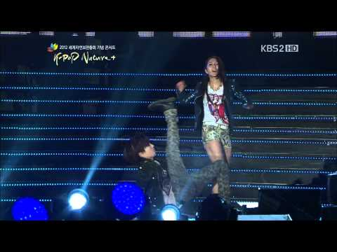 [HD] 120920 BoA - Only One with TaeMin of SHINee (K-POP Nature+ Concert)