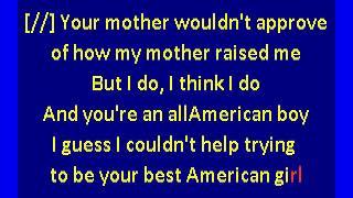 Mitski  - Your Best American Girl (karaoke)