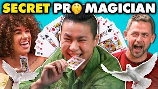 Undercover Magician SURPRISES Regular People (React)