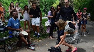 Taylor Swift in Central Park and Craig SOG raps freestlye