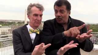 Bill Nye & Neil deGrasse Tyson on a Roof