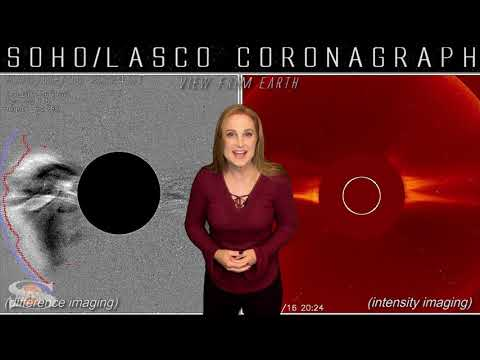 Flares Pick Up & A Solar Storm Heads Towards Earth | Space Weather News 08.18.2020