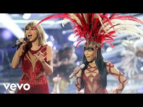 Nicki Minaj & Taylor Swift - Trini Dem Girls, The Night Is Still Young, Bad Blood (MTV VMAs / 2015)
