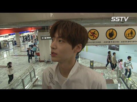 "[SSTV] 안재현(An Jae Hyun), 구혜선에게 프로포즈 소감? ""민망해요"""