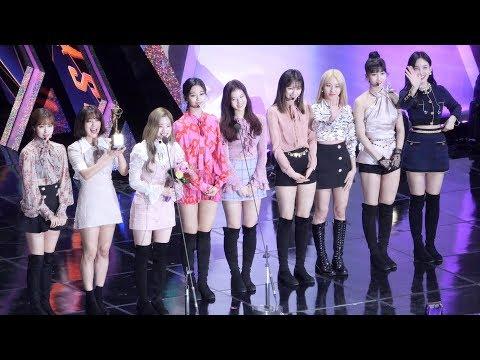 190115 트와이스 TWICE 본상 수상 Main Prize (feat. 아버지와 원스 JYP, ONCE) : Edited fancam : 고척돔