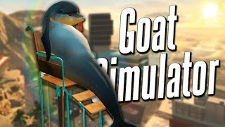 WHEELCHAIR DOLPHIN | Goat Simulator PayDay DLC #1