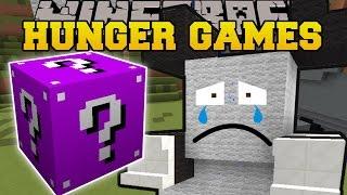 Minecraft: SAD PANDA LAND HUNGER GAMES - Lucky Block Mod - Modded Mini-Game