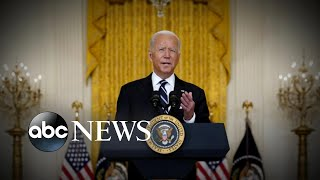 Biden's response to US withdrawal in Afghanistan fuels fresh criticism l GMA