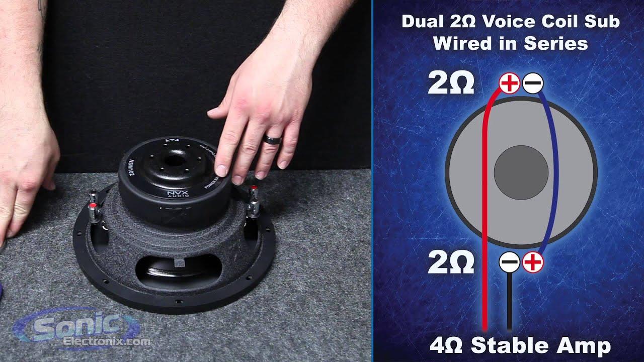 Single 4 ohm vs dual 2 ohm