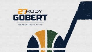 Rudy Gobert End of Season Highlights 17-18